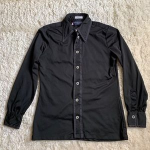Givenchy Vintage Black Blouse-4